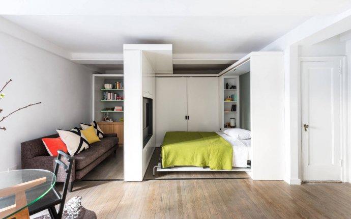 100 лучших идей: гостиная и спальня в одной комнате на фото