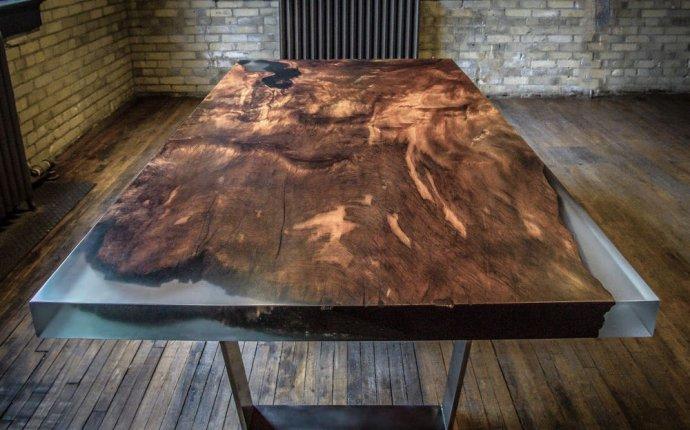 Дизайнерская мебель из дерева и акрила. Мастер класс - Ярмарка