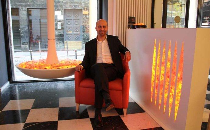 Фабио Ваннини: Vanixa, эмоциональная мебель с огнем, Италия