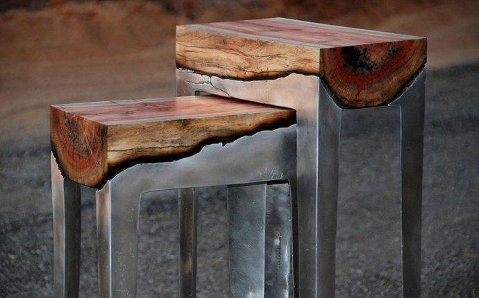 ФотоТелеграф » Союз металла и дерева в дизайнерской мебели