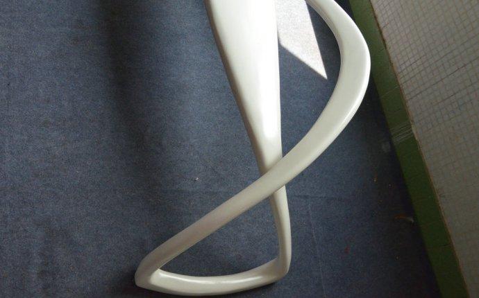 Художественное стекло изогнутые стали ленты сиденье скамейки