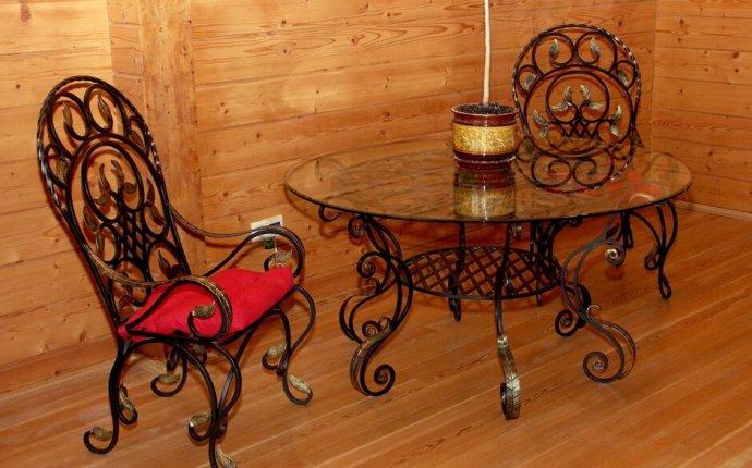 Изготовление кованой мебели в Минске