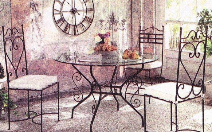Кованая мебель в интерьере и ландшафте. Ковка