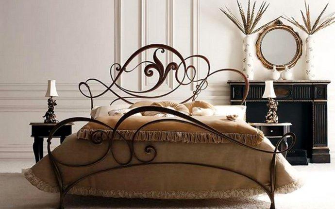 Кованые кровати - Кованая кровать -26
