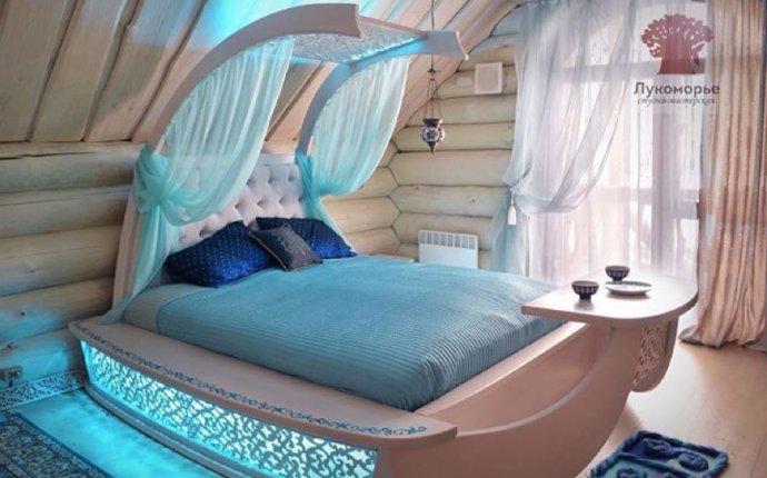 Купить Кровать Восточная Сказка - кровать, необычная форма