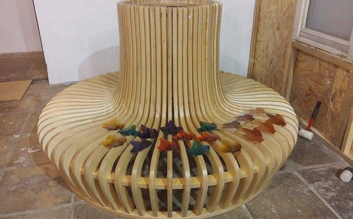 Мебель из фанеры, гнутой и ламинированной фанеры