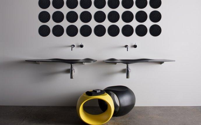 Необычная коллекция мебели и сантехники для ванной