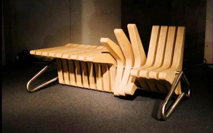Необычная мебель. Интересные идеи - YouTube