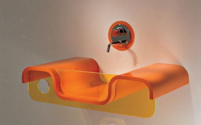 Необычная мебель в ванную комнату Удивительный дизайн интерьера