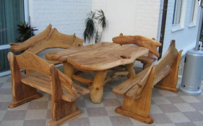 Scarecrowlane Креативная садовая мебель или мебель своими