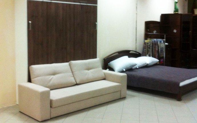 Шкаф кровать трансформер 160см с диваном — 49427руб