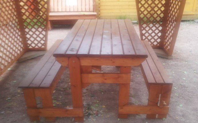 Стол-скамейка «Трансформер». - купить по низким ценам с установкой